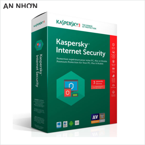 Phần mềm Kaspersky Internet Security 3 PC