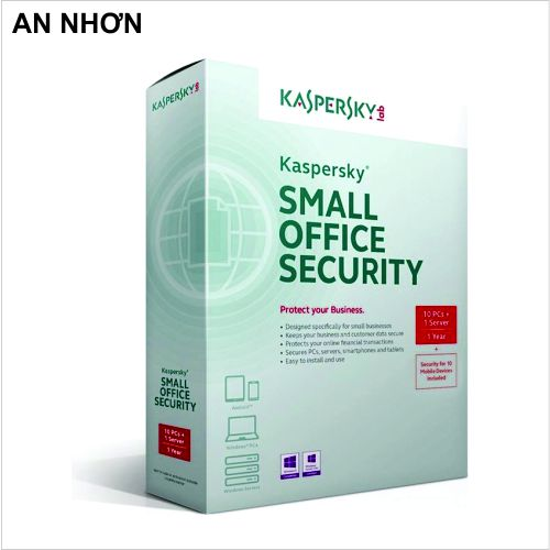 Phần mềm Kaspersky KSOS 1 Server-10PC