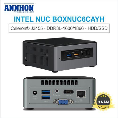 Intel NUC BOXNUC6CAYH Celeron-J3455