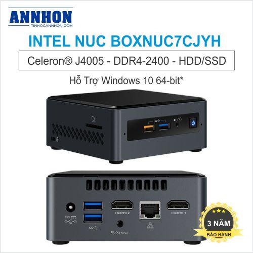 intel NUC BOXNUC7CJYH Celeron J4005
